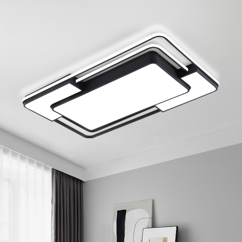 LED Ceiling Lamp Chandelier Smart Lamp Living Room Decoration Ceiling Fan Lights  36W 120W Cool and