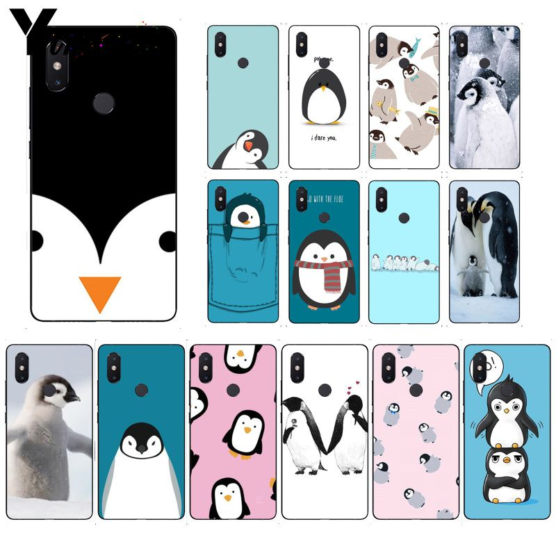 Yinuoda Linda hermosa funda de teléfono pingüino para Huawei P20 P30 P20Pro P20Lite P30Lite P Smart P10 9 Lite