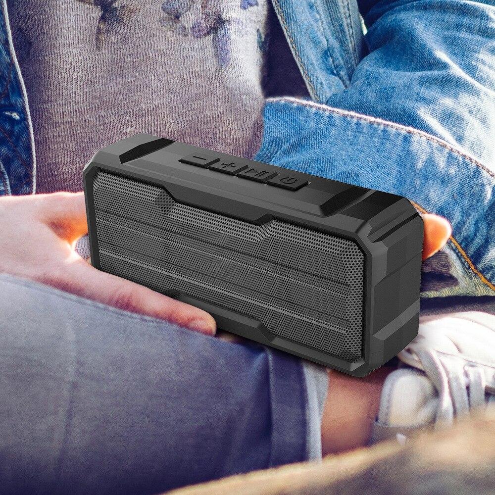 Altavoz Portátil con Bluetooth, altavoces exteriores impermeables, Boombox, Subwoofer, Altavoz portátil
