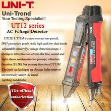 UNI-T UT12E/UT12M/UT12D senza contatto Rilevatore di Tensione AC; alta e bassa dual mode regolabile sensibile smart matita prova 24 V-1000 V
