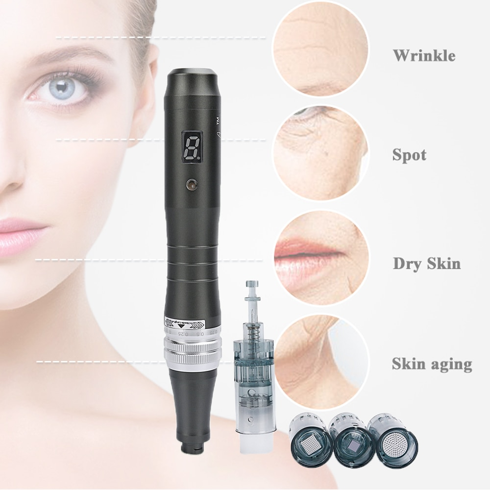 Dr Pen Ultima M8 Electric Wireless Derma Pen Face Wrinkle Acne Therapy Treatment Micro Needling Skin Care Beauty Microneedle Pen