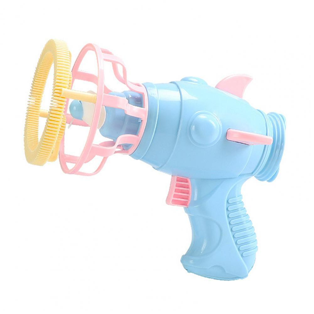 Bubble Machine Cartoon Modeling Grasp Easily Plastic Indoor Outdoor Bubble Toy for Toddlers Bubble Guns With 50ml Bubble Liquid
