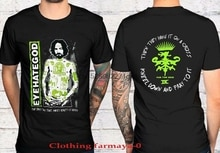 EYEHATEGOD - Charles Manson shirt Black 2 Side Unisex