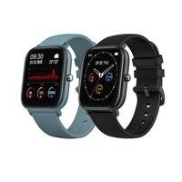 new smart watch men full touch bluetooth blood pressure round smartwatch women watch ip67 waterproof clock sport fitness tracker