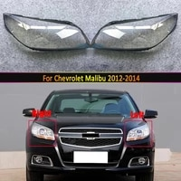 headlamp lens for chevrolet malibu 2012 2013 2014 headlight cover replacement front car light auto shell