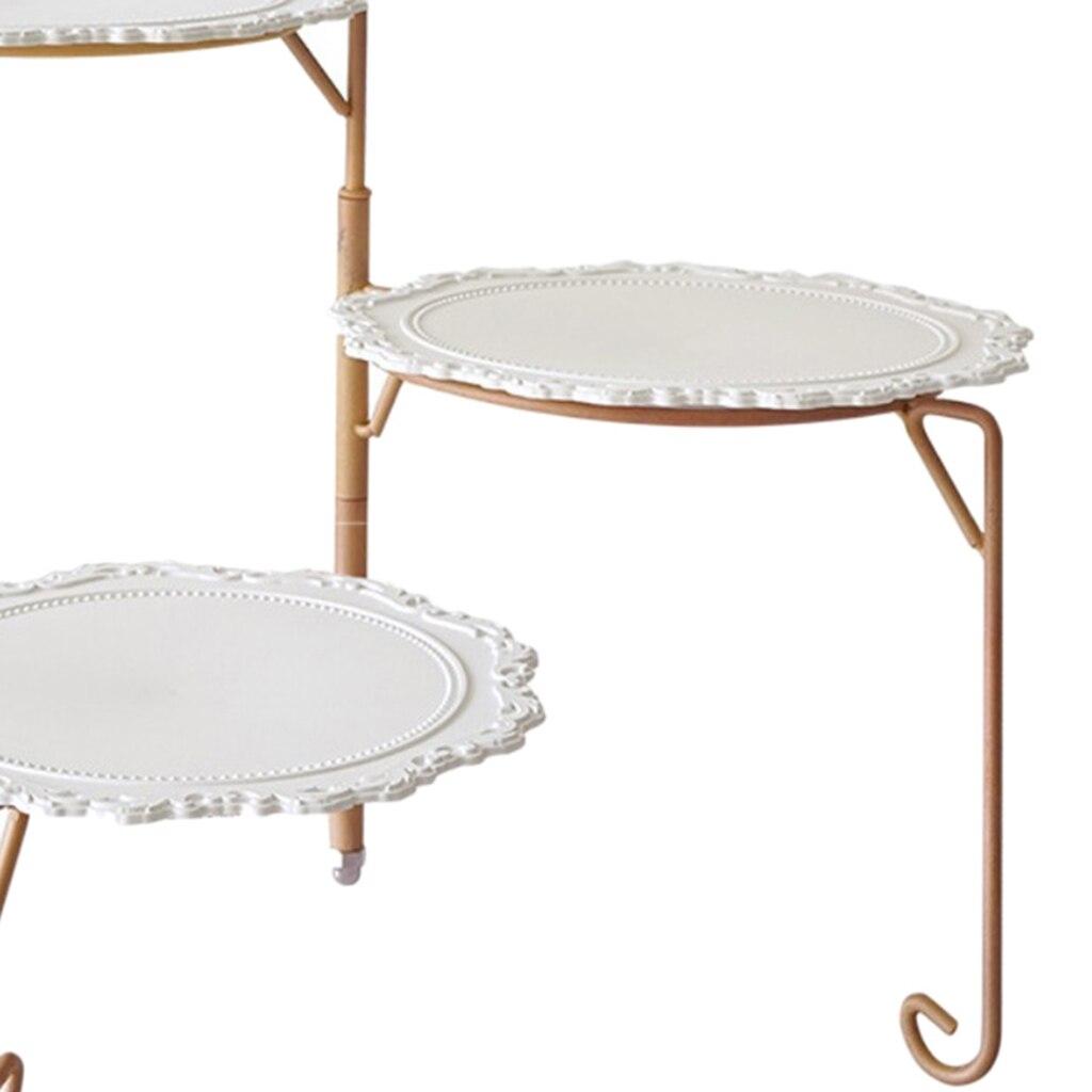 عرض الكيك على حامل الأطباق ، رف الشمبانيا لحفلات الزفاف