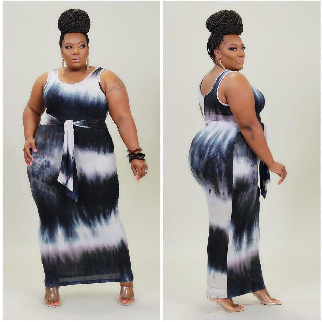 Новинка 2021, стильная Классическая модная летняя новая стильная Популярная женская одежда больших размеров, Повседневная Женская длинная ю...