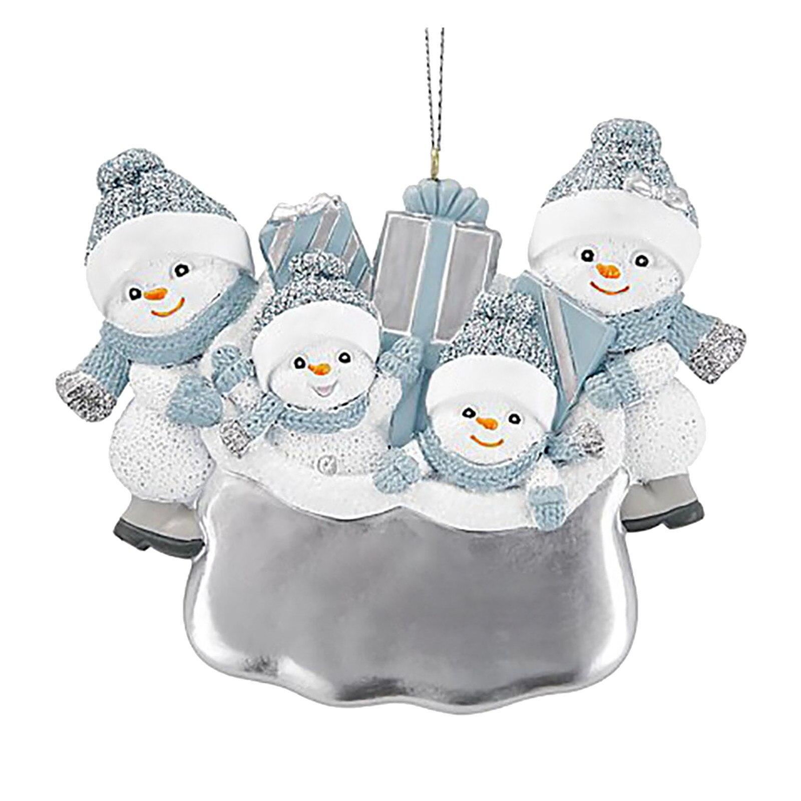 Ornamento de natal personalizado para 2020 enfeites de suspensão de natal presente da família