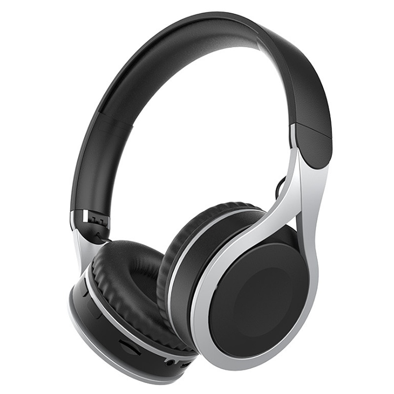 V90 auriculares Bluetooth, Subwoofer estéreo plegable portátil Auriculares inalámbricos con Bluetooth