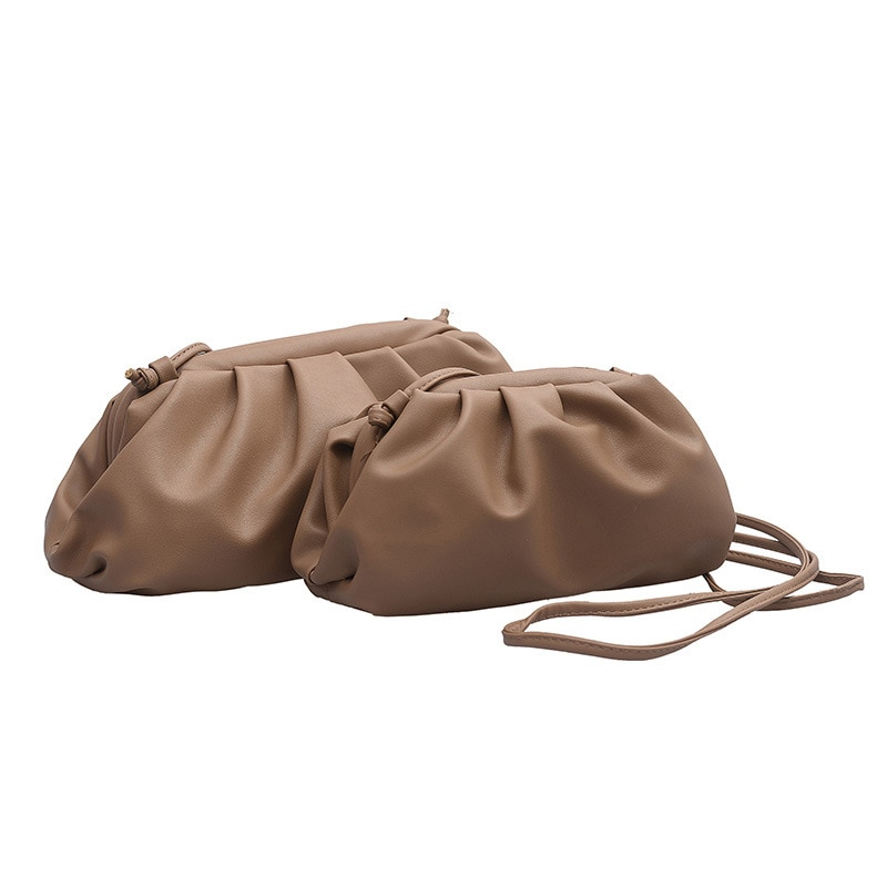 2019 New High Quality Shoulder Bag Women Simple Solid Dumplings Package Ladies Personality Large Capacity Handbags Designer Bags