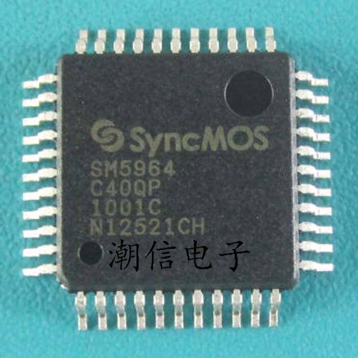رقاقة حاسوب دقيقة 10cps SM5964C40QP QFP-44, أحادي