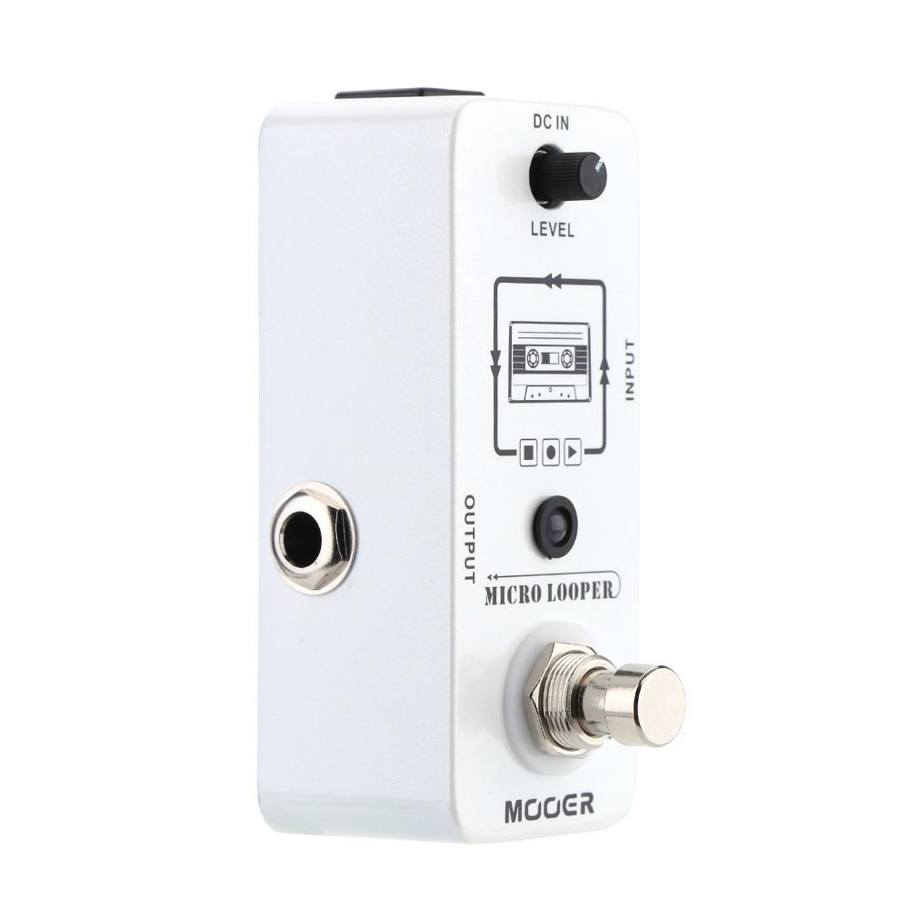 Mooer 30 Min Unlimited Loop Pedal Loop Station Electric Guitar Pedal Board Mlp1 Micro Looper Effector Musical Instrument enlarge