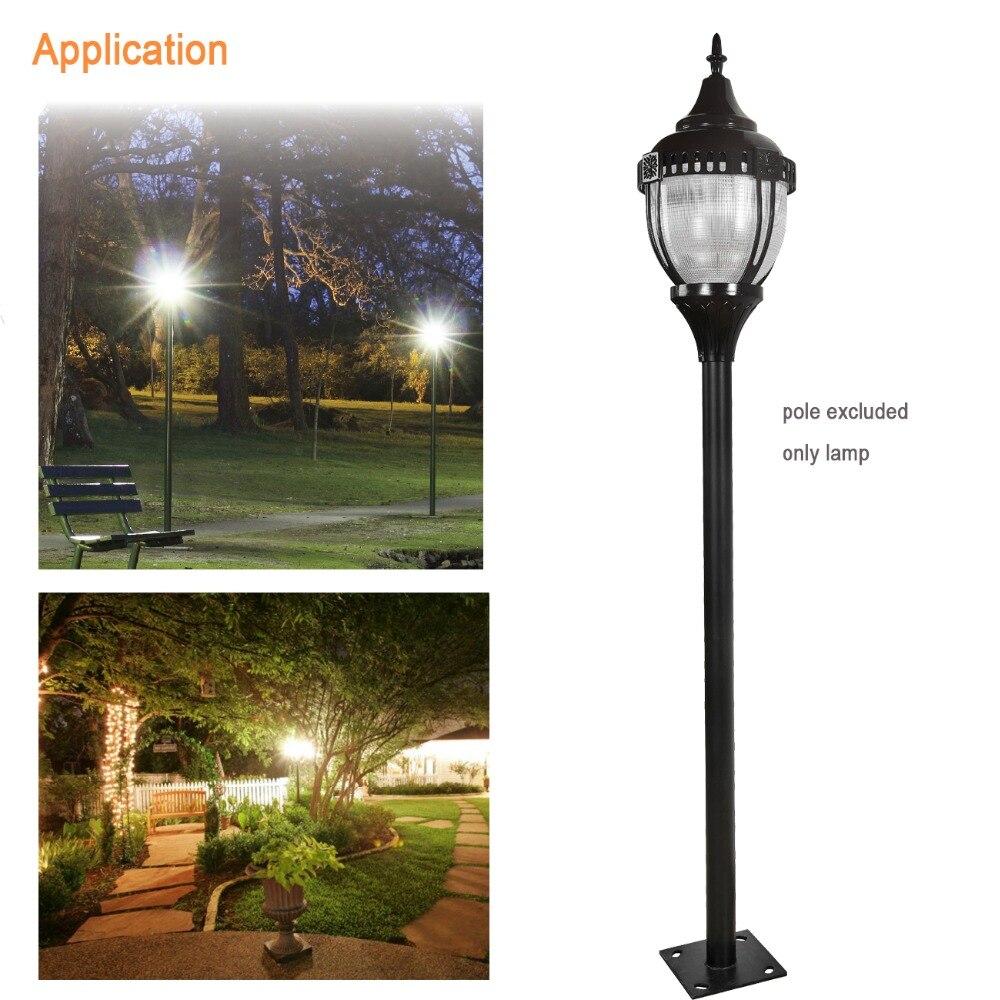 GLITE 5pcs/lot 60w garden lanterns led street light 110v post outdoor lighting outdoor light pole with 5 years warranty
