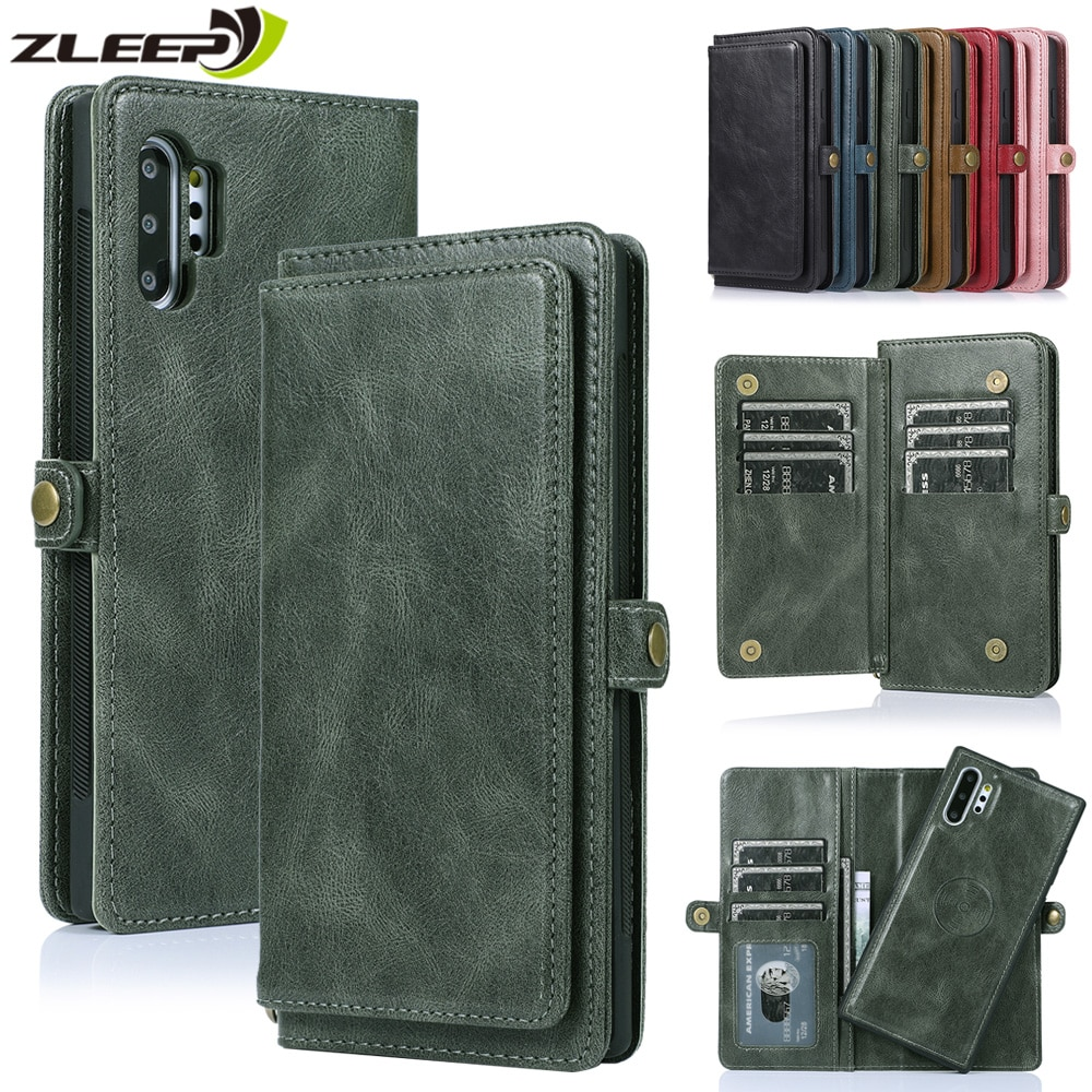 Leather Wallet A52 A72 A32 Case For Samsung Galaxy S21 S20 FE S10 S9 S8 Ultra Note 10 20 Plus A51 A71 A50 A70 A21S A31 A41 Cover