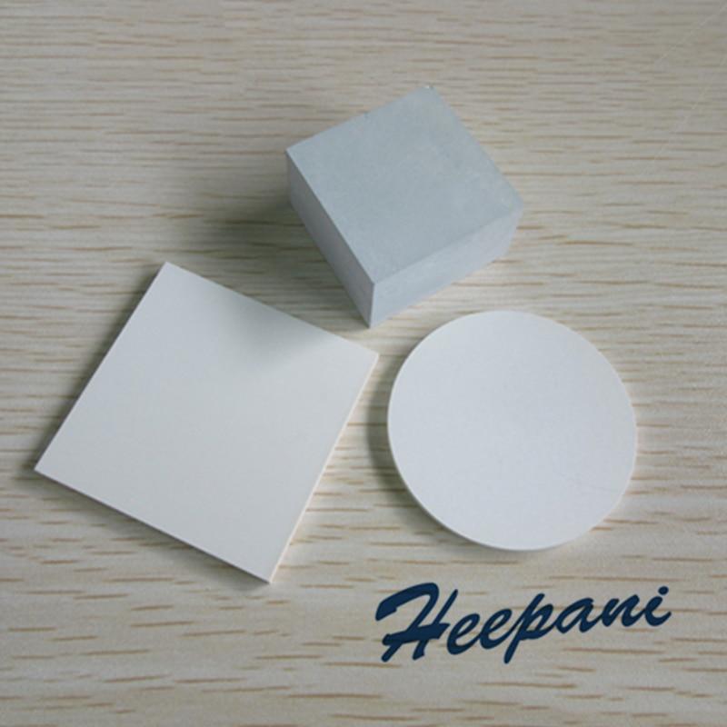 Lámina de sustrato cerámico aislante de placa cerámica de nitruro de boro Delgado 50x50mm/30x35mm, cerámica Bn personalizada de alta temperatura