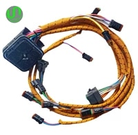 1 set excavator engine wiring cable harness 235 8202 for caterpillar cat c9 engine old model 2358202