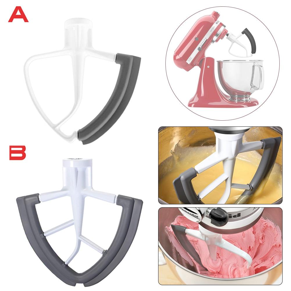 Flex Edge Beater 4.5-/5-Quart for KitchenAid Tilt-Head Stand Mixer Wing Shape Flat Beater Mixer Blade with Bowl Scraper