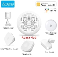Aqara     kit de bricolage de rideau intelligent  moteur de rideau intelligent Hub  commutateur de lumiere Wifi  controle dautomatisation  pour application Apple Homekit Mi Home  Original