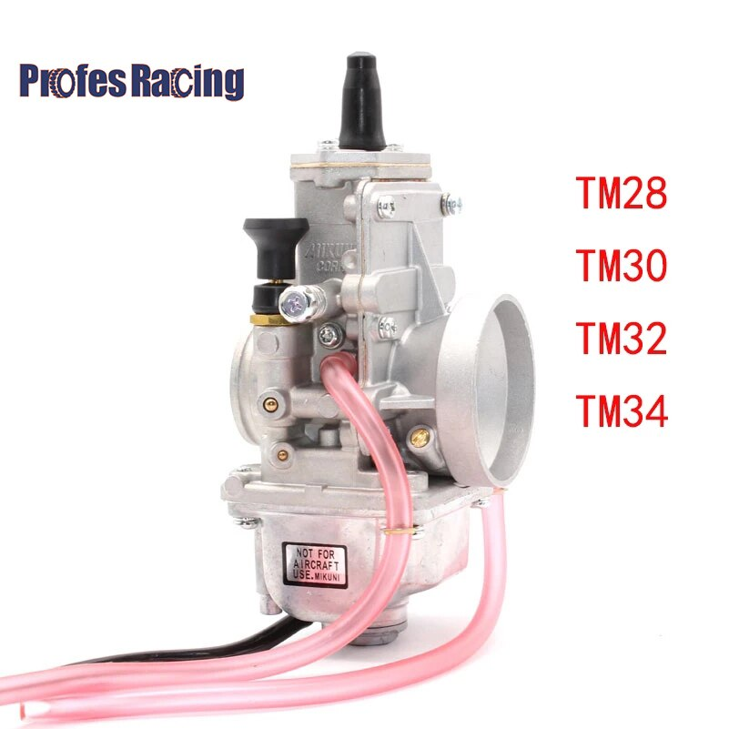 Mikuni Carburetor Carb TM28 30 32 34 شقة الشرائح 28 30 32 34 مللي متر Carburador Spigot TM الكربوهيدرات لهوندا CR250 لكاواساكي KX125 150