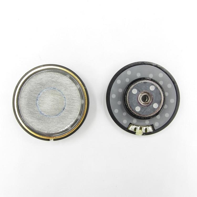 40mm Headphone Speaker Unit For B&W P7 Replacement 22ohm 95dbOriginal Headset Driver Hifi Headphone Repair Parts Sound Good 2PCS enlarge