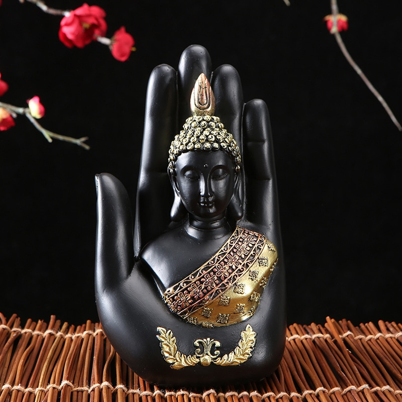 Statue Crafts Chinese Style Thai Style Zen Retro Zhongfo Home Furnishing Company Decorations Office Decoration CANQ889