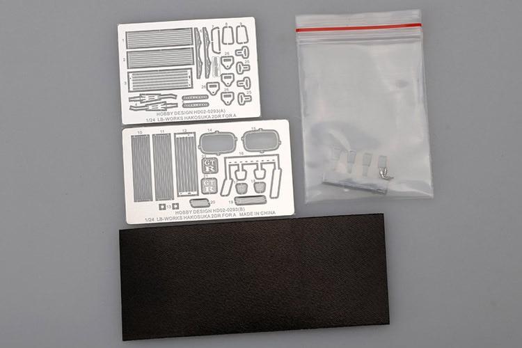 HOBBY DESIGN HD02-0293 1/24 LB-Works Hakosuka 2DR Detail-up set for AOSHIMA