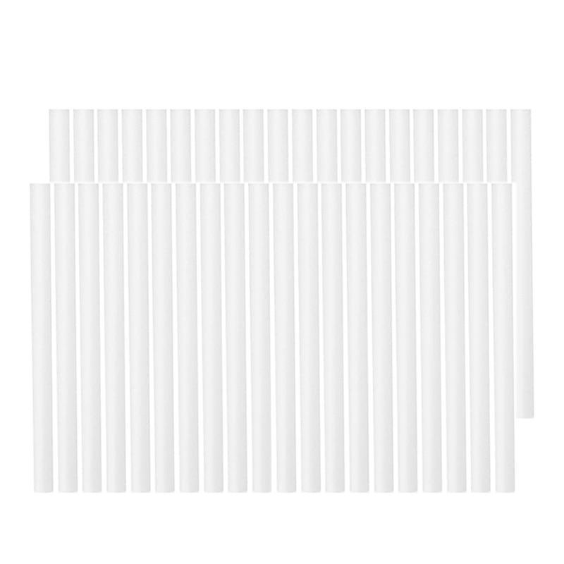 Для выведения токсинов, 40 шт ватный тампон фильтры Сменные стержни для фитили сменные для Портативный персональный питаемые через USB порт увлажнители воздуха аромат тумана