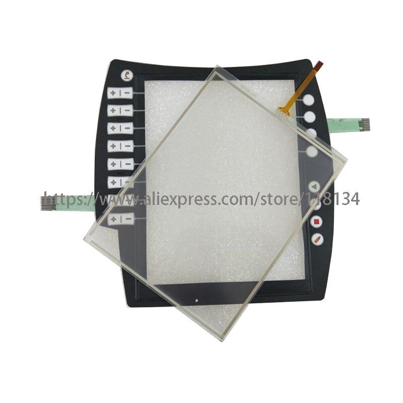 Panel de pantalla táctil para KUKA KRC4 00-168-334 KR C4 00-168-334 KRC4 00-189-002 KR C4 00-189-002 con teclado