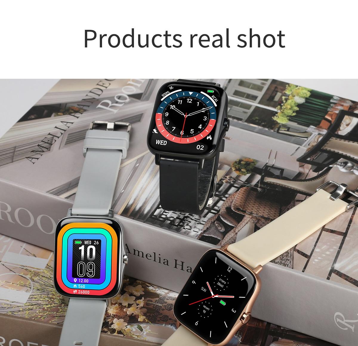 dos homens à prova dwaterproof água smartwatch