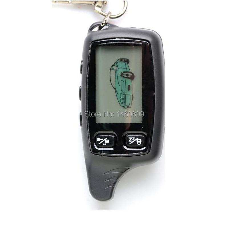 TW9020 TW9030 LCD Remote Control Key Fob Keychain Trinket for Russian TW 9020 TW 9030 two way car alarm Tomahawk TW-9030 TW-9020