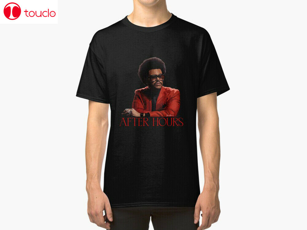 Camiseta Unisex The Weeknd después de horas, camiseta después de horas, camiseta Weeknd
