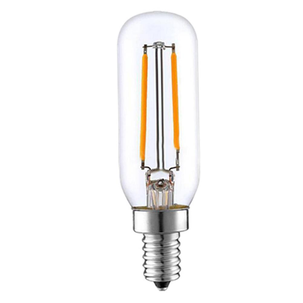 Gama campana lámpara LED 110V 3W E14 vida Base 10000h cálido y blanco bombilla de luz de vidrio transparente no regulable para herramienta de luz de cocina