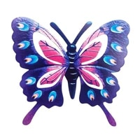 wrought iron wall decorations metallic color butterfly crafts cafe bar home decor metal wall hanging animal model pendant