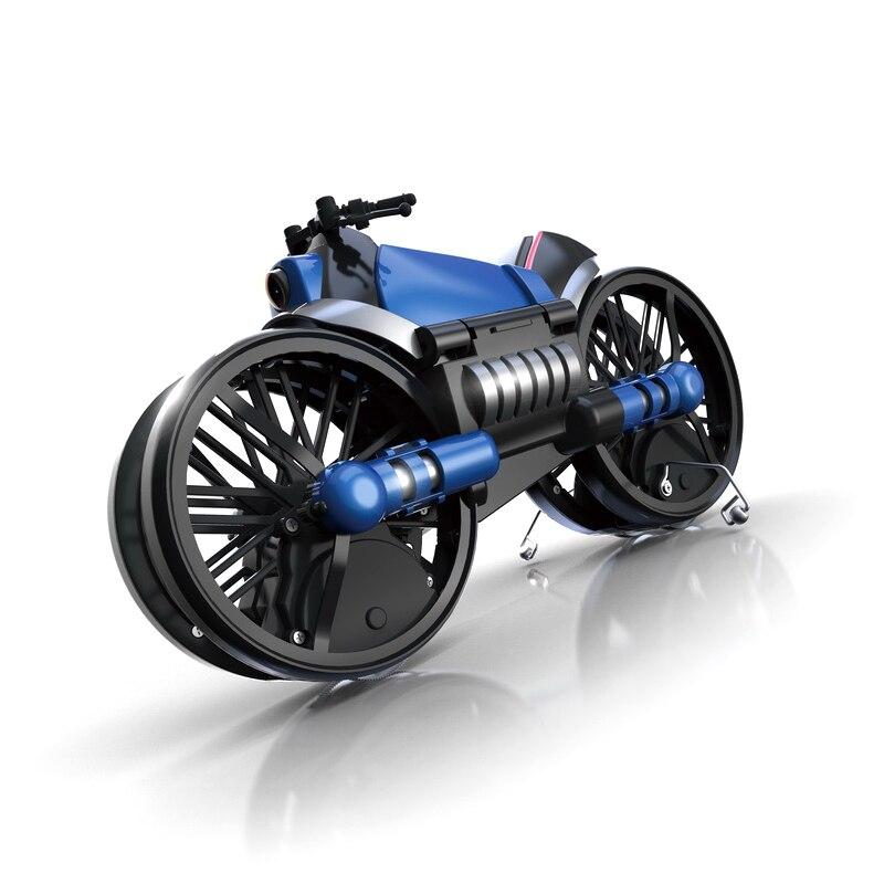 2.4G Vervorming Motorfiets Vouwen Quadcopter Drone Dubbele Modus 2 In 1 Speelgoed UY8