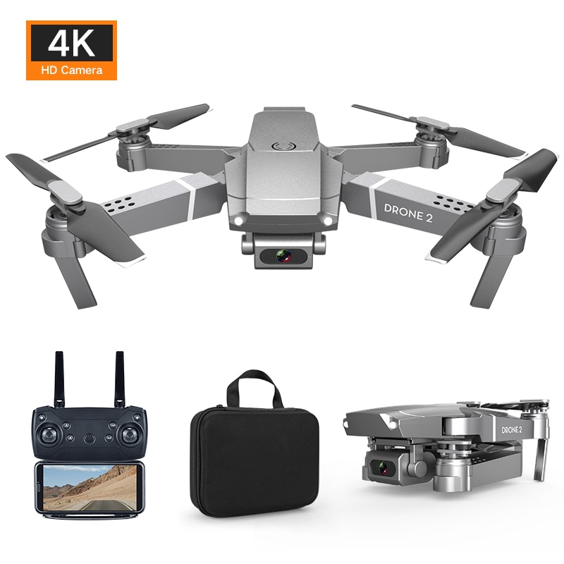 4K Drone Camera HD Altitude RC Helicopter Follow Me E68 Wifi FPV Drones Eachine Foldable Quadcopter Hubsan Zino Pro enlarge