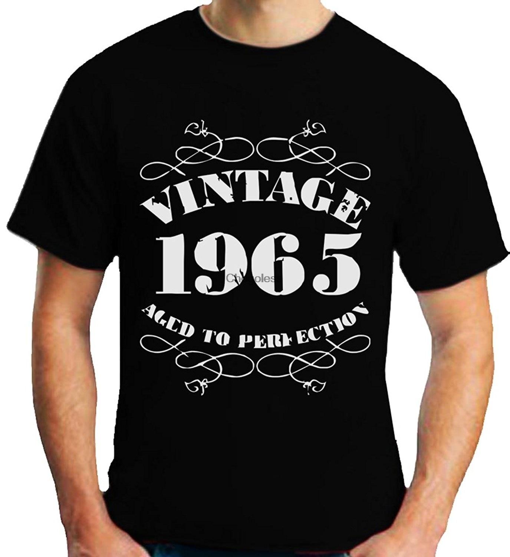 Caja de regalo Vintage 1965 camiseta de 50 cumpleaños Camiseta de manga...