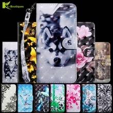 For Xiaomi Mi A3 A 3 Case 3D Vision Painted Leather cover For Mi CC9e CC 9e CC9E CC9 cc 9 cases On for Xiomi A3 Lite Coque Bags
