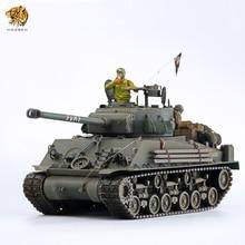 HOOBEN 1/16 UNS FURY Medium Tank M4A3E8(HVSS) Sherman Einfach 8(E8) einfach Acht 2,4G Radio Control Volle Funktionen RC Tank RTR Master