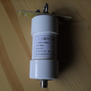 1:1 1-56MHz 500w high power balun short wave antenna suitable for inverted v positive v horizontal antenna