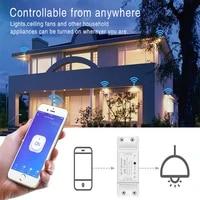 UBARO Tuya Wi-Fi application de telephone intelligent pour la maison commutateur tactile controle de prise en charge vocale Google Assistant alexa maison Module intelligent