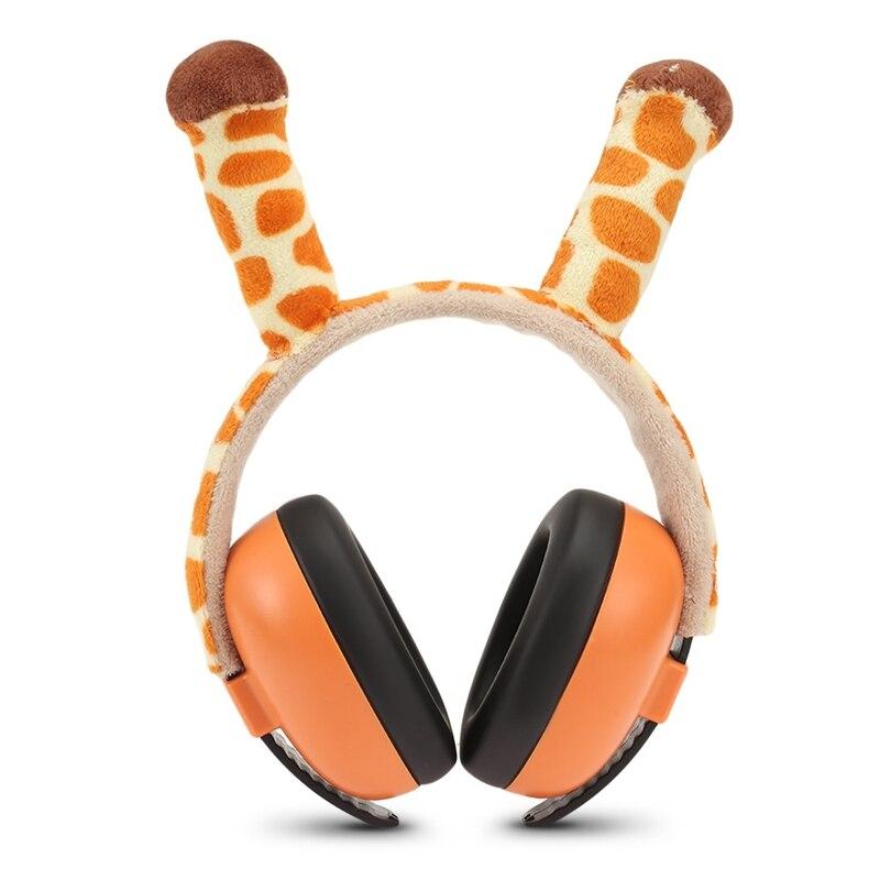 Bebê earmuffs ruído para crianças bebê à prova de som orelhas do bebê crianças anti ruído earmuffs fone de ouvido proteção auditiva defensores da orelha