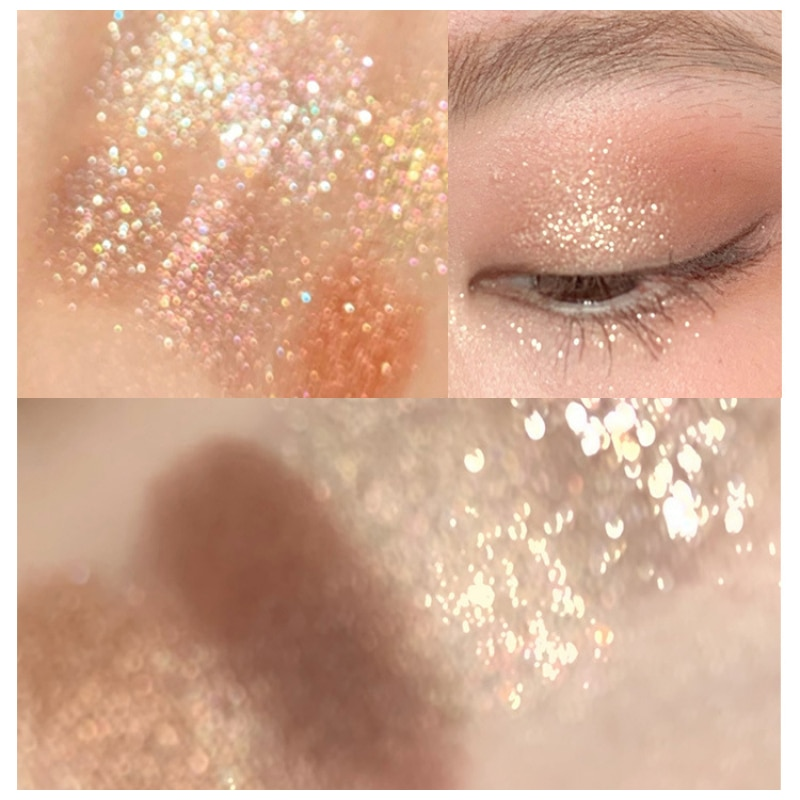 Miss Lara Pearlescent Eye Shadow Palette 9Colors High Pigmented Eyeshadow Powder Easy To Blend Long-wearing Eye Makeup TSLM1