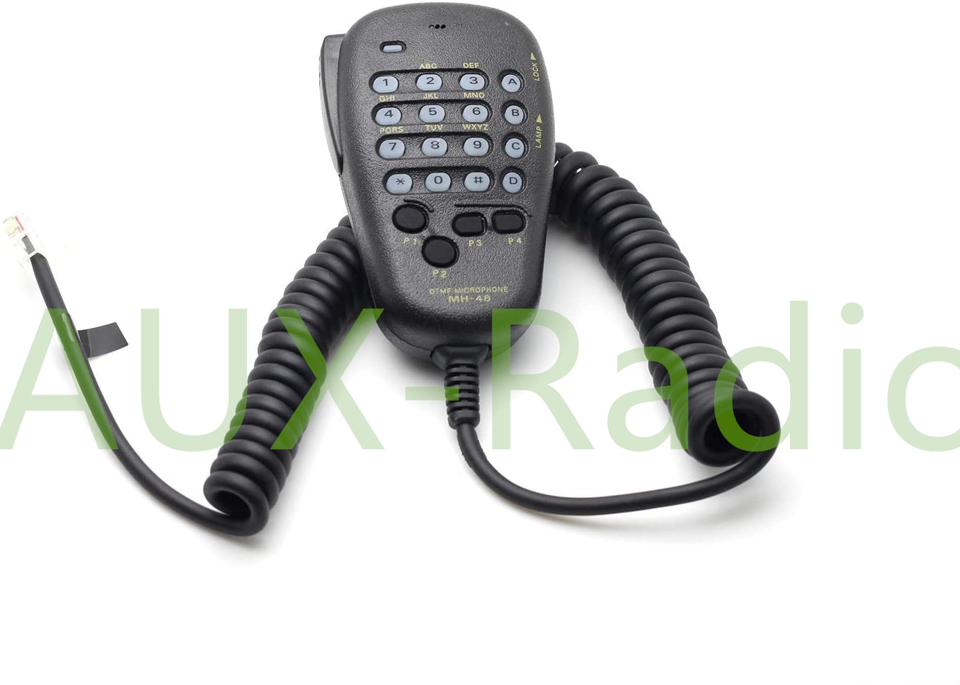 MH-48A6J 6 Pin Coil Cord DTMF Speaker Microphone with Button for Yaesu FT-7800R FT-8800R FT-8900R FT-7900R FT-7100M1 FT-1900R
