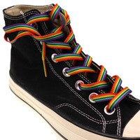 Радужные шнурки  #1