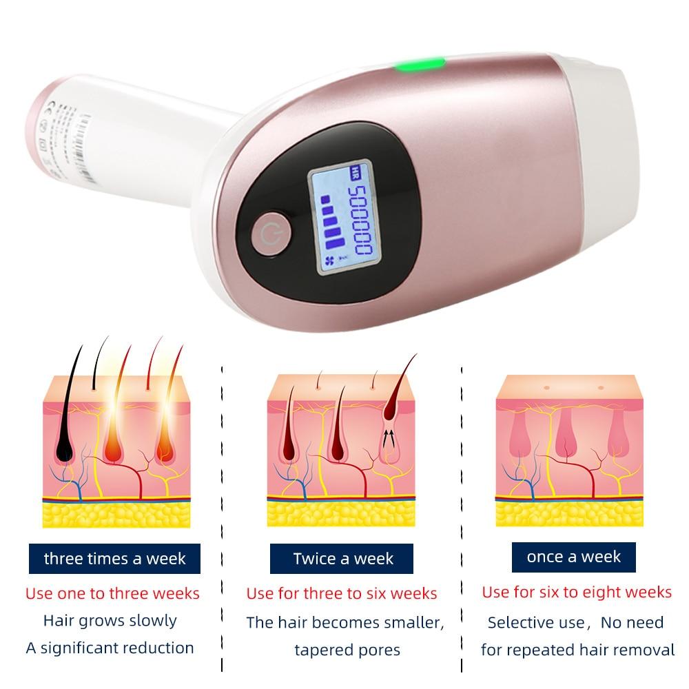 Female Laser Depilator Machine IPL Photoelectric Depilation Permanent Electric Laser Hair Removal For Face Body Leg Bikini enlarge