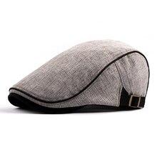 Haute qualité rétro adulte hommes rétro décontracté Cappellino bref Ivy chapeau été hiver gavroche conduite Cabbie casquette plate bérets chapeaux