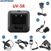 Baofeng UV-5R USB EU/US/UK/AU/автомобиль Батарея Зарядное устройство для Baofeng UV 5R УФ 5RE DM 5R плюс иди и болтай Walkie Talkie Ham радио двухстороннее радио