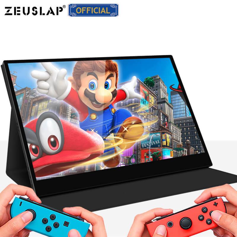 "14 ""tragbare touch monitor pc HD Bildschirm 1080p IPS LCD Display HDMI Typ-C USB für laptop telefon xbox schalter ps4 gaming monitor"