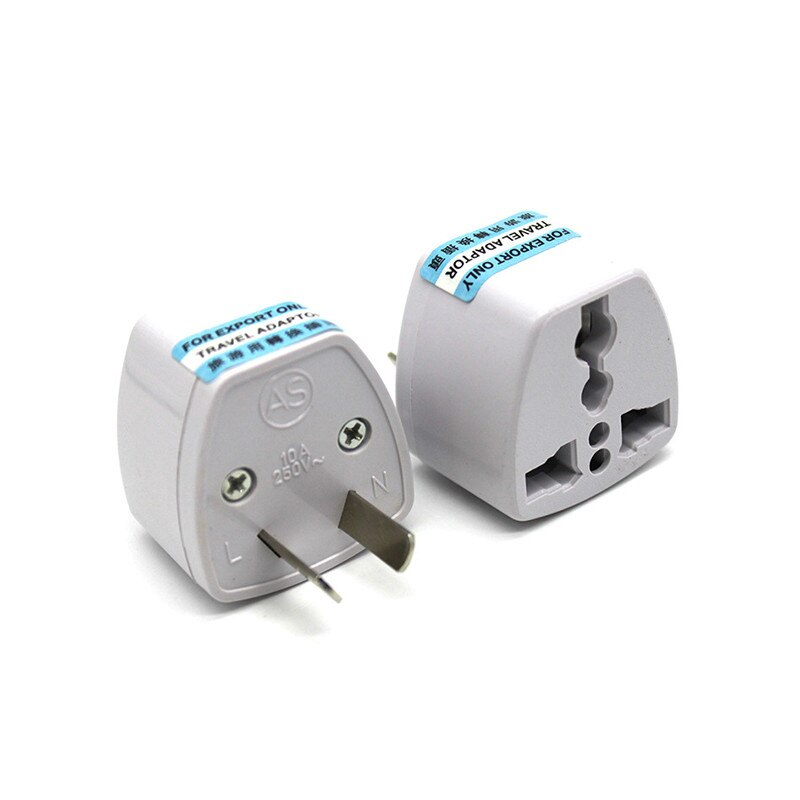 travel eu plug converter adapter 250v ac travel charger wall power plug socket with home adapter US EU UK To AU 2PINS AC Power Socket Plug Travel Electrical Charger Adapter Converter