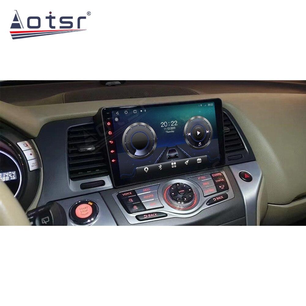 6 + 128G أندرويد 10 راديو مسجل شرائط سيارة مشغل وسائط متعددة ستيريو لنيسان مورانو Z51 2010-2014 رئيس وحدة لتحديد المواقع نافي Autoradio